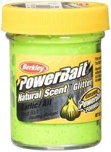 8. Power Bait Natural Glitter Trout Bait.