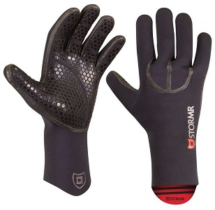 10. Stormr Typhoon Men and Women Durable yet Comfortable Fishing Gloves