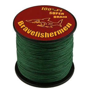 7. Brave fishermen Super Strong PE Braided Fishing Line.