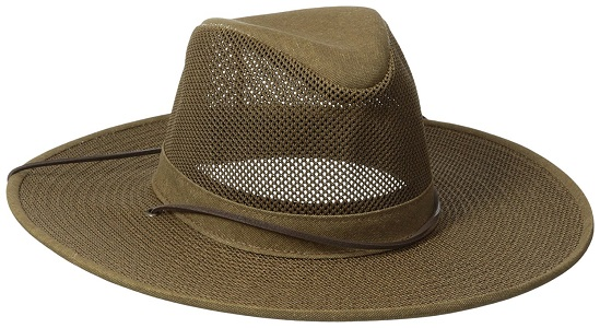 7. Hensel Crushable Soft esh Aussie Breezer Hat