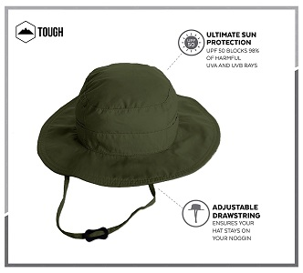 2. Outdoor Boonie Sun Ha-UPF 50 Protection For men and Women