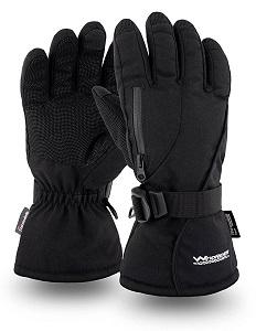 6. Rugged Waterproof Winter Gloves