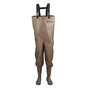 5. Hodge Mackenzie Nylon and PVC Cleated Bootfoot Chest Fishing Waders