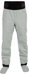 6.Kokatat Men's Hydrus Tempest Pants w/ Socks-LightGray-L