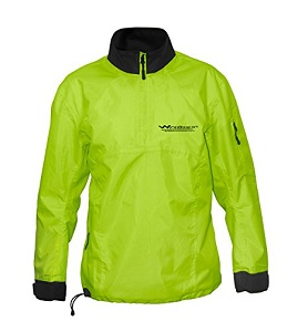 1.WindRider Waterproof Spray Jacket | Neck and Wrist Seals | Front Zipper | Shoulder Pocket | Jacket For Sailing, Paddling, Kayak, Sup, Rafting