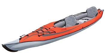 3. Advanced Elements AdvancedFrame Convertible Inflatable Kayak