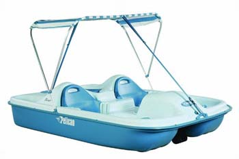 6. Pelican Boats Flash 5-Passenger Pedal Boat