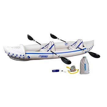 3: Sea Eagle SE370 Inflatable Sport Kayak Pro Package
