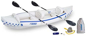 6: Sea Eagle SE370 Inflatable Sport Kayak Deluxe Package