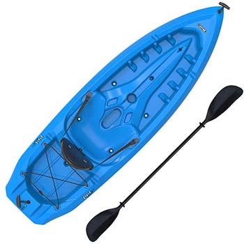 7. Lifetime Lotus Sit-On-Top Kayak with Paddle