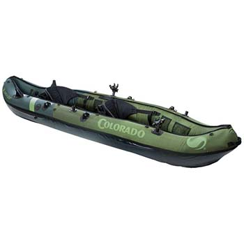 7: Sevylor Coleman Colorado 2-Person Fishing Kayak