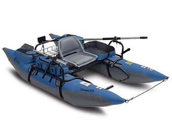 7. Classic Accessories Colorado XTS Fishing Inflatable Pontoon Boat