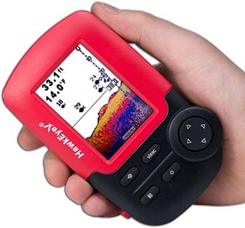 8: HawkEye Fishtrax 1C Fish Finder with HD Color Virtuview Display