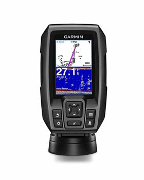 1: Garmin Striker 4 Built-in GPS Fish Finder