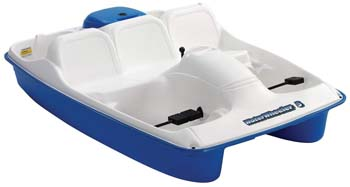 8. Sun Dolphin Water Wheeler 5 Person Pedal Boat