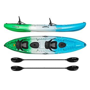 4. Vibe Kayaks Skipjack 120T | 12ft Tandem Kayak