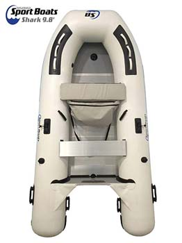 8. Inflatable Sport Boats Shark 9.8'