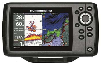3: Humminbird 410210-1 HELIX 5 CHIRP GPS G2 Fish finder