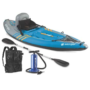 2: Sevylor Quikpak K1 1-Person Kayak