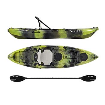 9. Vibe Kayaks Yellowfin 100 10 foot Angler Sit On Top Kayak