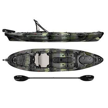 8. Vibe Kayaks Sea Ghost 110 11 foot Angler Sit On Top Fishing Kayak