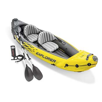 1: Intex Explorer K2 Kayak, 2-Person Inflatable Kayak Set