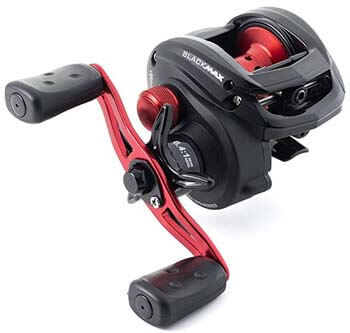 9. Abu Garcia BMAX3 Max Low-Profile Baitcast Fishing Reel