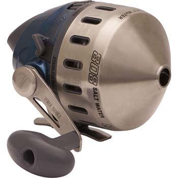 8. Zebco 808 Spincast Reel, 20 lb