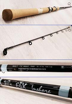10. G.Loomis E6X Inshore Spinning Rods