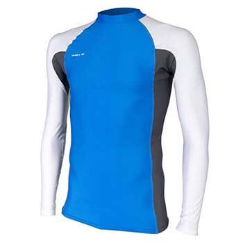 4. O'Neill Men's Basic Skins UPF 50+ Long Sleeve Rash Guard