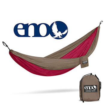 9. ENO - Eagles Nest Outfitters DoubleNest Hammock, Portable Hammock for Two