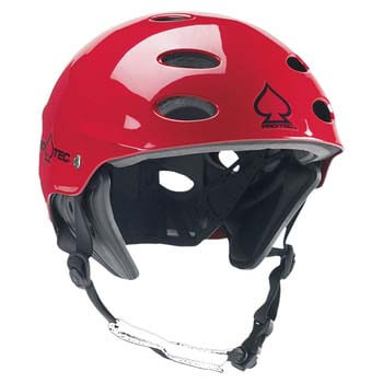 9: Palm PRO-TEC Ace WAKE Helmet in RED GLOSS CH109
