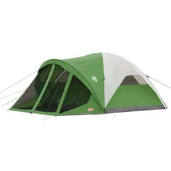 1: Coleman Dome Tent with Screen Room | Evanston Camping Tent with Screened-In Porch