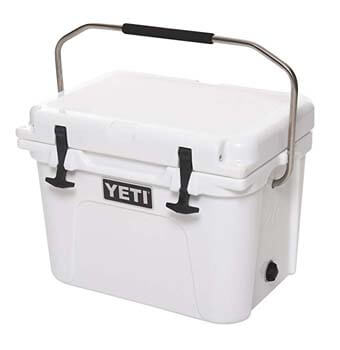9: YETI Roadie 20 Cooler, White