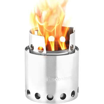 3: Solo Stove Lite - Portable Camping Hiking and Survival Stove