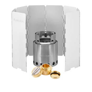 10: Solo Stove with Backup Alcohol Burner