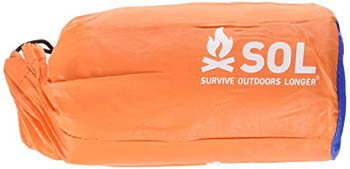 10: S.O.L Survive Outdoors Longer 90 Percent Heat Reflective Durable Lightweight 2-Person Emergency Bivvy, Orange