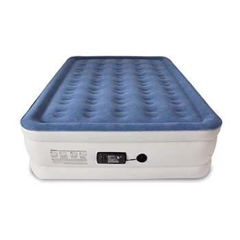 8: SoundAsleep Dream Series Air Mattress with ComfortCoil Technology & Internal High Capacity Pump - Queen Size