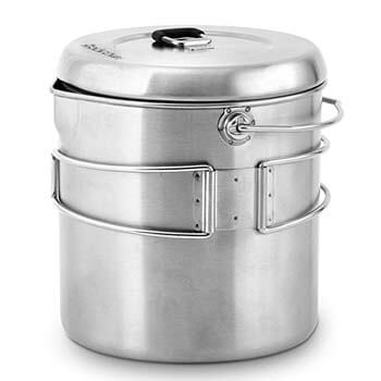 8: Solo Stove Pot 1800 Cooking System
