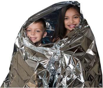 4: Kangaroo Emergency Thermal Blankets (Pack of 10)