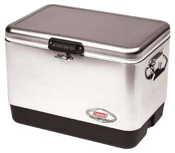 10: Coleman Steel-Belted Portable Cooler, 54 Quart