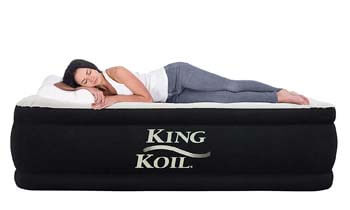 3: King Koil QUEEN SIZE Luxury Raised Air Mattress