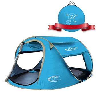 3: ZOMAKE Pop Up Tent 4 Person, Beach Tent