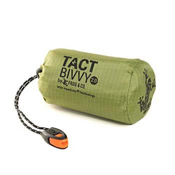 10: Survival Frog Tact Bivvy Compact Ultra-Lightweight Sleeping Bag