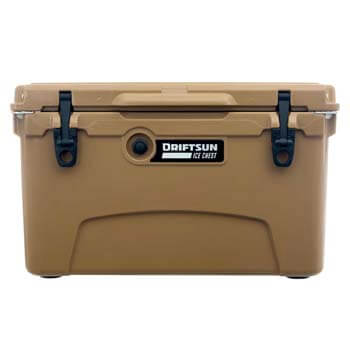 7: Driftsun 45-Quart Ice Chest, Heavy Duty, High-performance Roto-Molded Commercial Grade Insulated Cooler