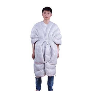 10: WIND HARD Wearable 95% Goose down Sleeping Bag