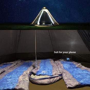 4: Vidalido 12' x 10' x 8' Dome Camping Tent