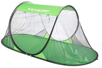 9: SANSBUG 1-Person Free-Standing Pop-Up Mosquito-Net (Poly Floor)