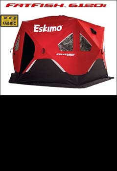 3: Eskimo 5-9 Person Pop-Up Portable Ice Shelters