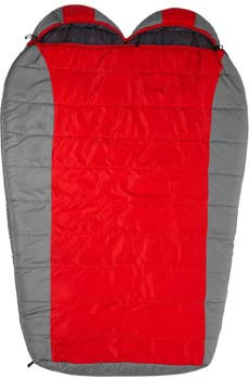 3: TETON Sports Tracker Ultralight Double Sleeping Bag